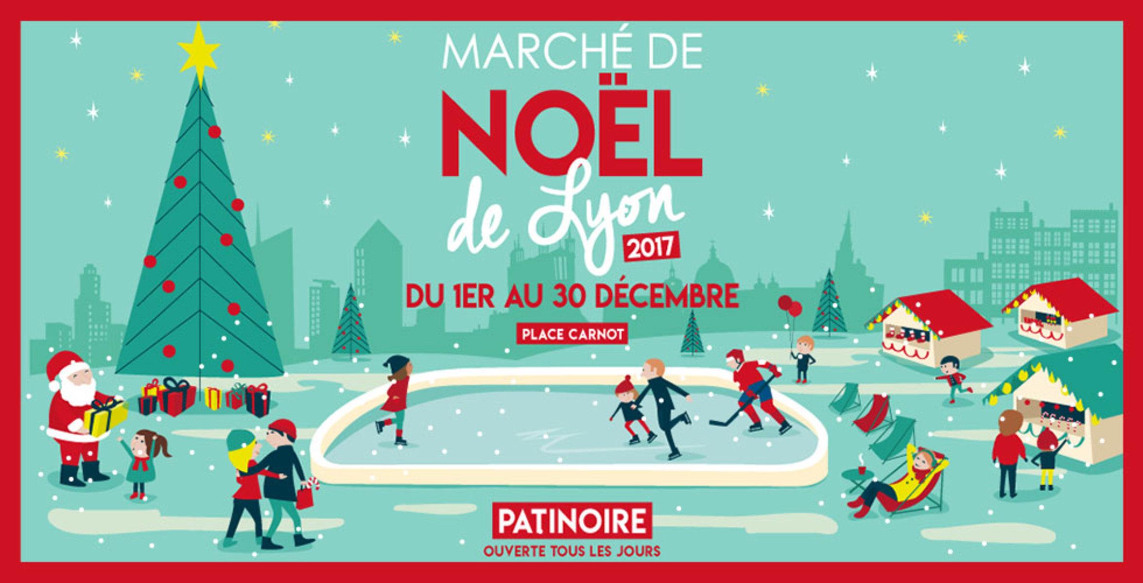 noel 2018 lyon Marchés de Noël 2017 à Lyon noel 2018 lyon